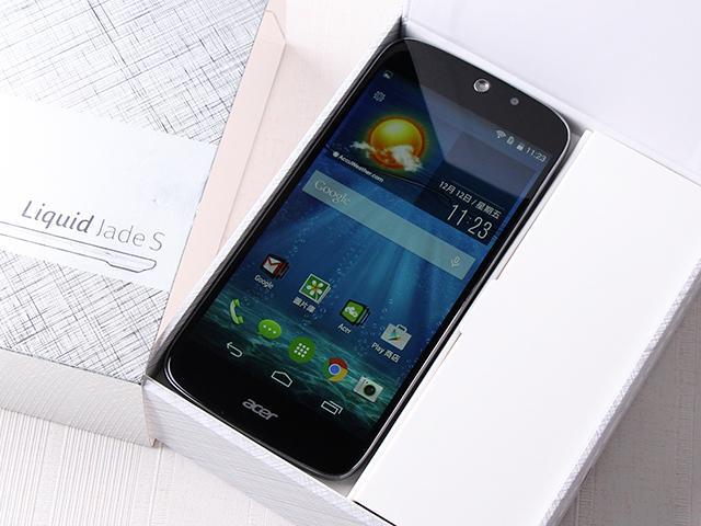 Acer Liquid Jade S 輕薄美型4G雙卡機