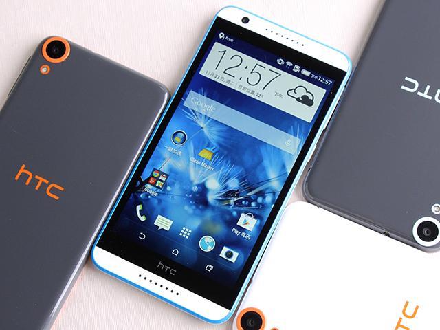 雙色拼接年輕風格 超值八核HTC Desire 820