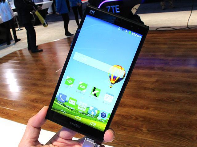 6吋大螢幕4G手機ZTE Grand X Max+直擊【CES 2015】