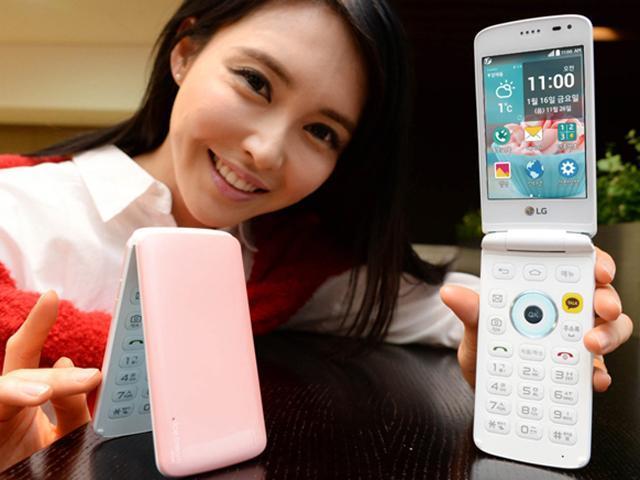 LG發表新款Ice Cream Smart冰淇淋摺疊智慧機
