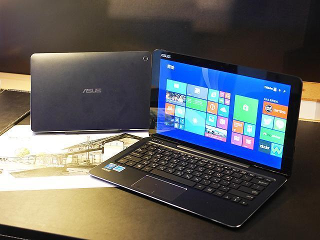 華碩變形筆電T300/T100 Chi登台 售價14,988起