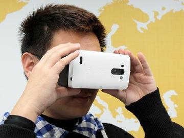 LG G3專屬VR視鏡 虛擬實境輕鬆體驗