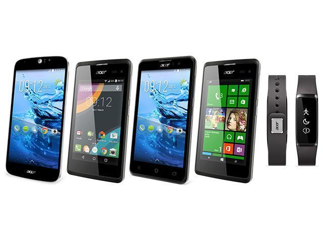 宏碁推Liquid Jade Z手機、Leap+手環等新品【MWC 2015】