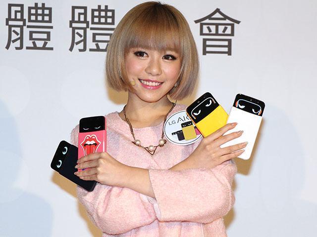 個性化手機LG AKA找來紀卜心代言 單機9900