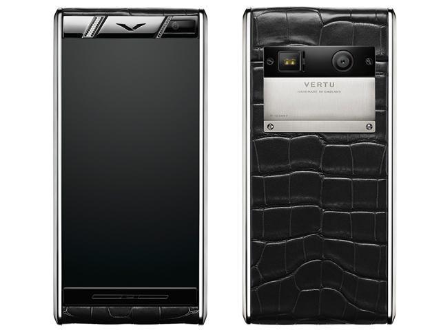 Vertu推Aster新系列Diamonds Alligator奢華4G手機