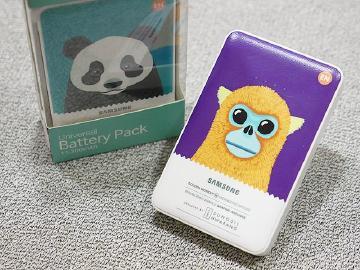 充電同時愛地球!SAMSUNG保育動物行動電源動手玩