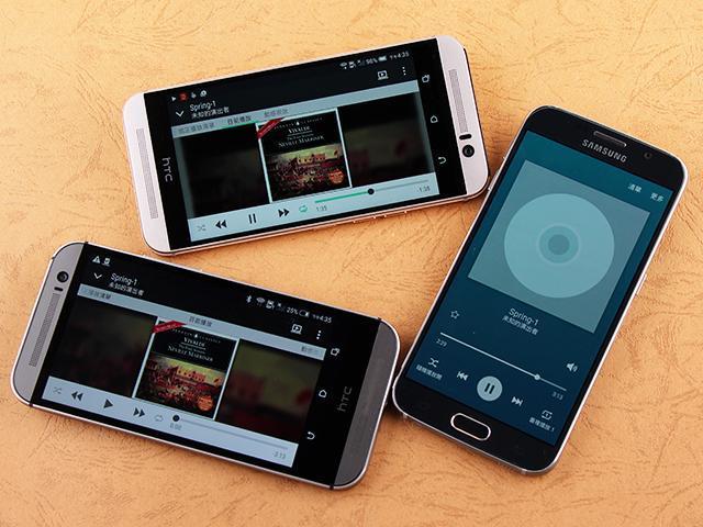 HTC One M9、M8與三星S6喇叭外放效果比一比