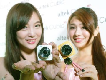 altek Cubic Live直播相機發表 蛋黃哥與Kitty版超可愛