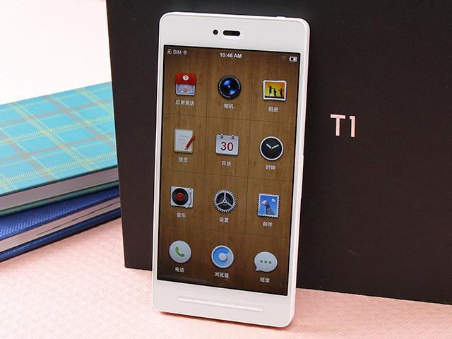 [開箱]不一樣的錘子手機! Smartisan T1白色版