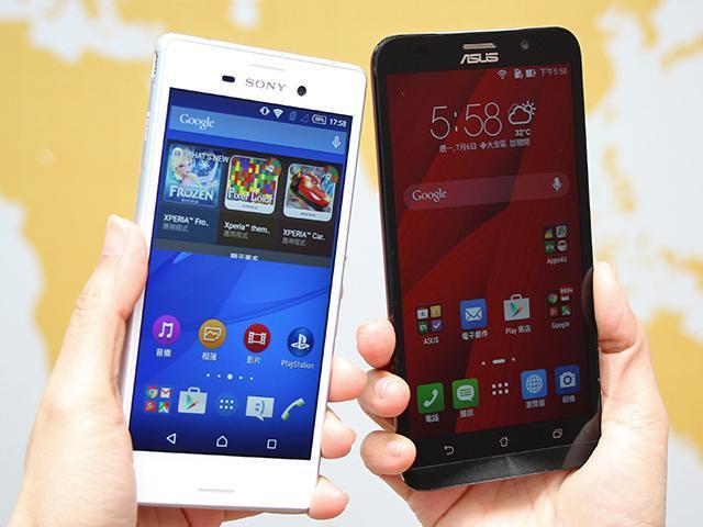 [比較]萬元有找中階雙卡 Sony M4 Aqua/華碩ZenFone2