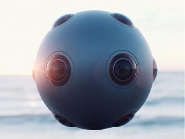 搶進VR市場 諾基亞推出八個鏡頭的OZO攝影機