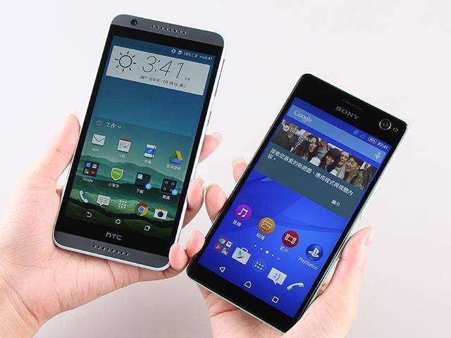 [比較]5.5吋自拍手機 當Sony C4遇上HTC 820s