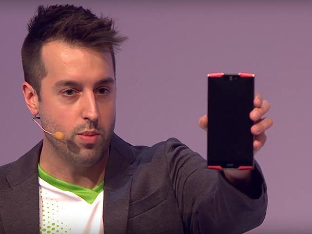宏碁主打電競系列 推Predator6吋手機與8吋平板[IFA 2015]