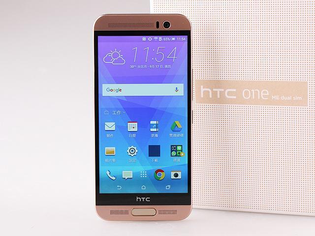 [評測]指紋辨識雙卡機 HTC One ME實測