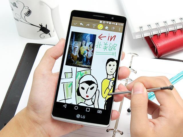 [評測]5.7吋大屏LG G4 Stylus 行動筆寫好便利