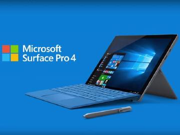 微軟發表Surface Pro 4與Surface Book兩款強大2合1筆電