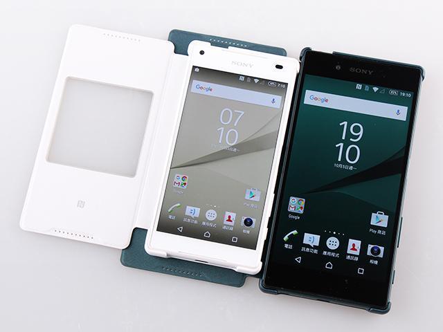 [配件]Sony Z5/Z5 Compact智慧視窗皮套圖賞