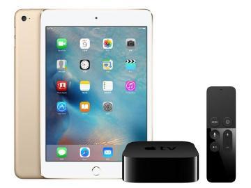 iPad mini 4官網上架 新Apple TV開賣