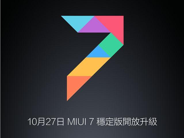 MIUI 7國際穩定版釋出 小米Note、紅米2可升級