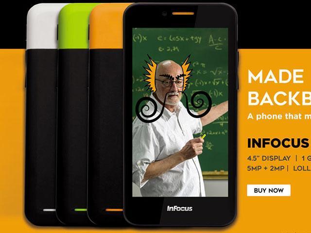 InFocus M260印度發表 4.5吋3G雙卡手機