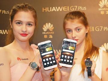 華為G7 Plus、Y6以及HUAWEI Watch登台 搶先動手玩