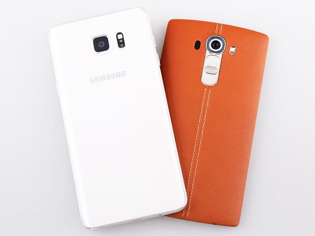 [比較]三星Note 5、LG G4 韓系2K旗艦PK