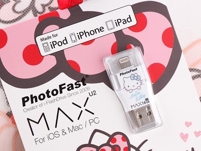 [開箱]PhotoFast MAX Hello Kitty蒂貓雙頭龍隨身碟動手玩