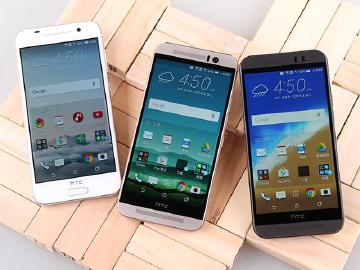[比較]HTC One金屬機A9、M9、M9s比一比