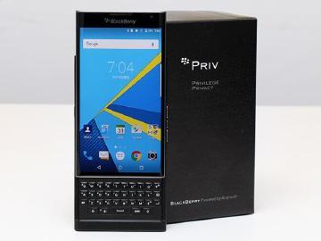 [開箱]黑莓摻安卓!Blackberry Priv靚機實測