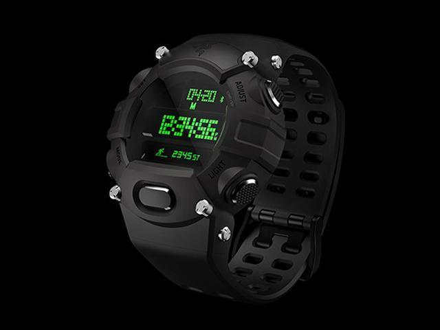 雷蛇發表Razer Nabu Watch:結合電子錶與智慧手環[CES 2016]