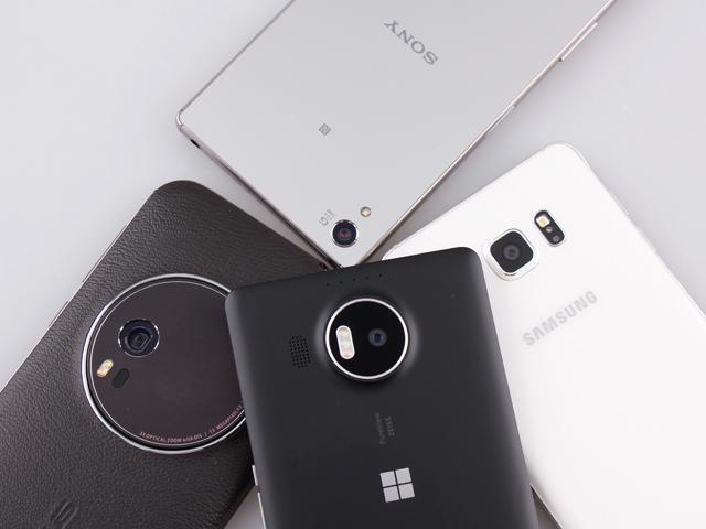 [旗艦相機PK賽]微軟950XL/華碩ZF Zoom/三星Note 5/Sony Z5P