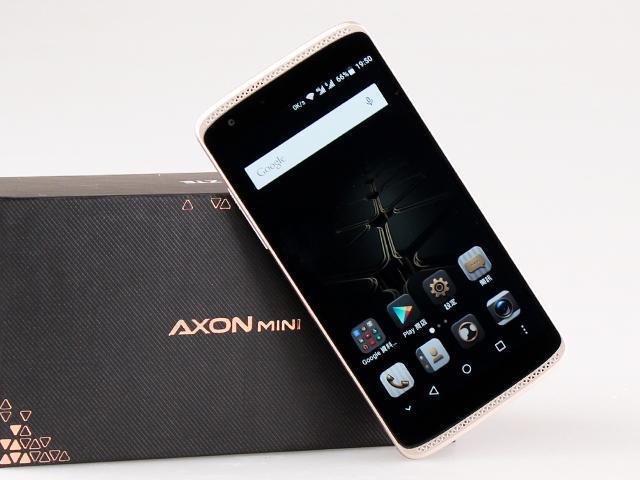 [開箱]5.2吋天機ZTE AXON mini高配版 具備壓力感應螢幕