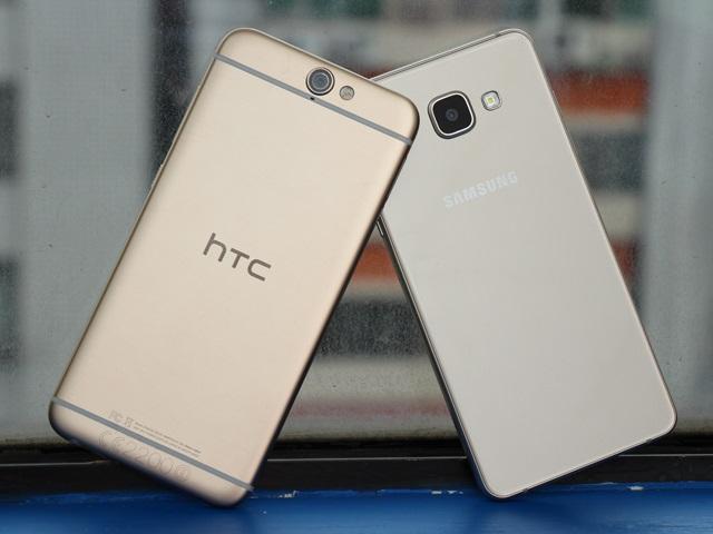 [比較]HTC A9、三星A5 2016中階雙機PK