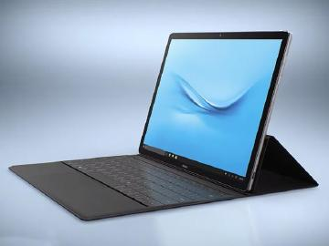 華為跨界發表12吋MateBook平板筆電[MWC 2016]