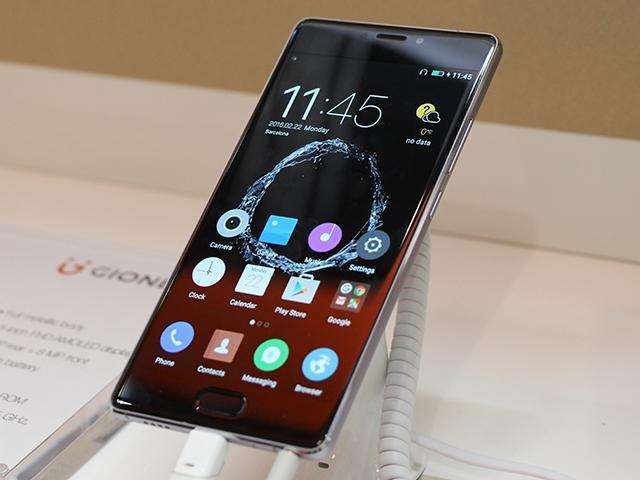 3D Touch手機再添一款 金立S8動手玩[MWC2016]