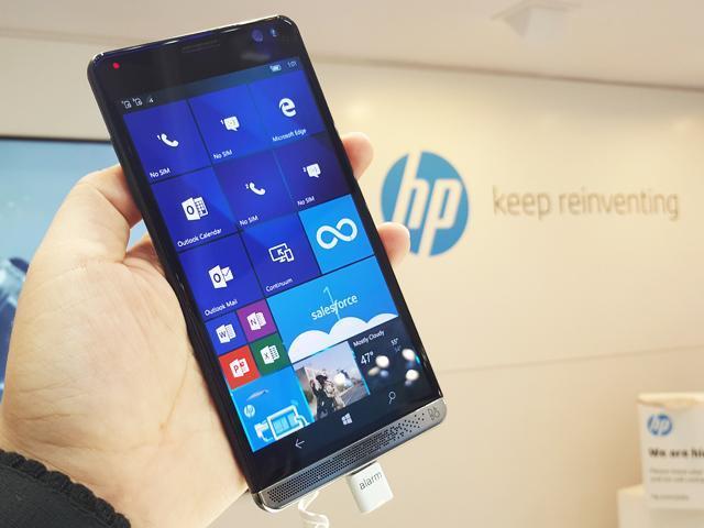 HP Elite X3搭載S820 還能3段變身[MWC 2016]