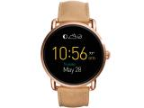 Fossil Q Wander Light Brown Leather