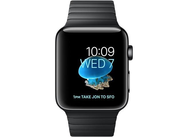 Apple Watch Series 2 Black Link Bracelet 38mm