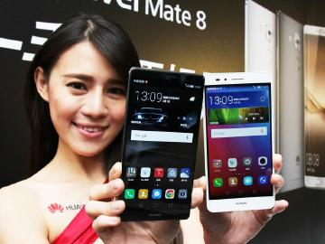 大螢幕+指紋辨識 HUAWEI Mate 8與GR5在台上市