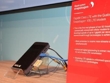 高通QCT總裁:下載速度1Gbps的智慧手機2017年問世