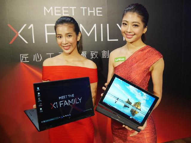 Lenovo X1家族登台!X1 Tablet及X1 YOGA動手玩