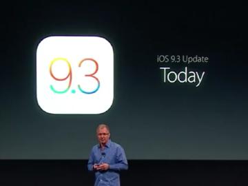 內建Night Shift 新版iOS 9.3開放更新