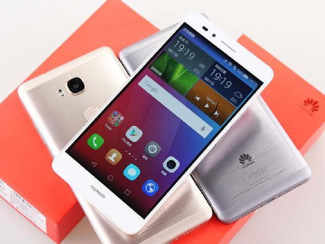 [開箱]超「指」感金屬手機 HUAWEI GR5