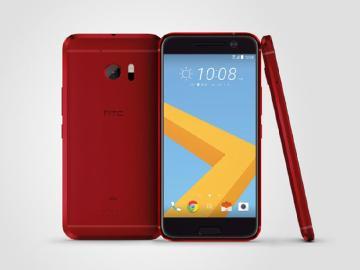 HTC 10夕光紅 原本是au日本限定版