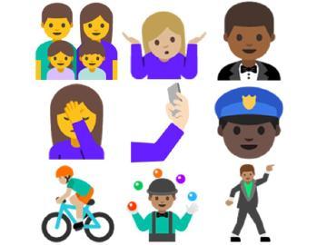 Android N預覽版介面搶先看 Emoji多了膚色還會自拍