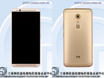5.5吋ZTE AXON 2亮相 2K螢幕配高通S820