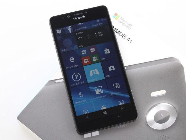 [開箱]Win10旗艦手機 微軟Lumia 950實測
