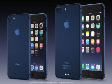 傳深藍色iPhone 7將取代太空灰 新色模擬圖現身