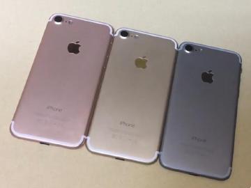 Apple iPhone 7三色外型照、影片再曝光