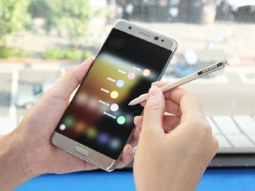 三星Note 7第四季可升級Android 7.0
